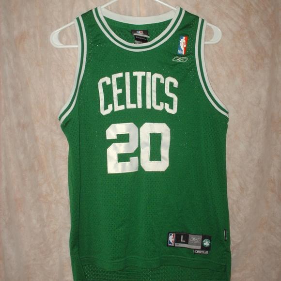 buy online 89d34 3dbb2 Boston Celtics #20 Gary Payton basketball jersey